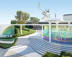 澍语/CIFI FUZHOU KIDS PLAYGROUND on Behance Kindergarten Interior, Kindergarten Design, Space Architecture, Futuristic Architecture, Interactive Installation, Installation Art, Plaza Design, Chinese Landscape, Urban Life