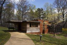 Pope-Leighey House / 1005 Locust St, Falls Church, VA then 9000 Richmond Hwy, Alexandria, VA / 1939-1941... / Usonian / Frank Lloyd Wright