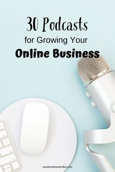 Isn't it amazing that you can find about any type of education online? Here are 30 podcasts that are FANTASTIC for growing your online business! Social Media Quotes, Social Media Tips, Social Media Marketing Business, Email Marketing, Marketing Automation, Marketing Ideas, Content Marketing, Affiliate Marketing, Digital Marketing