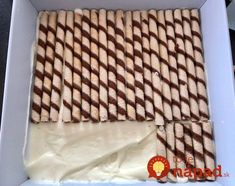 Pipeline – delicious cake without baking! Sweets Recipes, Cookie Recipes, Peanut Butter Cookie Lasagna, Homemade Sweets, Polish Recipes, Sweet Cakes, How Sweet Eats, Yummy Cakes, Nutella