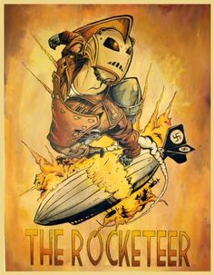 The Rocketeer by Joshua Storms