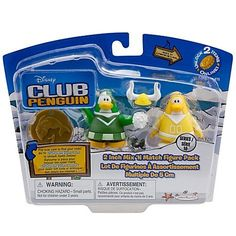Disney Club Penguin Series 10 Mix N Match Mini Figure Pack Yellow Team Green Team Cheerleader Includes Coin with Code! by Jakks. $19.99. Go Teams Go! Have fun cheering and mixing the Club Penguin 2 Mix N Match Figure Pack  Yellow Team and Green Team Cheerleader. This Series #10 toy figure pack includes a special coin that kids can use to Unlock Items Online at clubpenguin.com. Please note Because there is a redeemable code here, we cannot accept returns on this item. There is ...