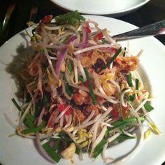 Thai Soft shell crab salad