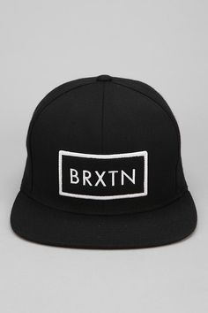 Brixton Rift Snapback Hat #urbanoutfitters I like the design... If only they had one for Brockley :/