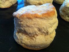 biscuits uses self rising flour so sub in 3 3/4 tsp baking powder and 1 1/2 tsp salt
