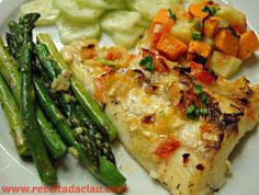 Mess free dinner, ready in 1 hour! Servings: 3 Preparation time: 1 hour Ingredients: 2 lb cod fish juice of 1 lemon 2 thyme sprigs salt and olive oil to taste 1/2 onion, finely chopped 4 cloves gar...
