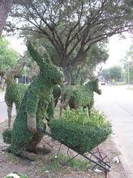 rabbit topiary - Google Search
