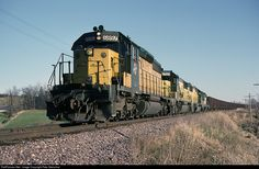RailPictures.Net Photo: CNW 6897 Chicago & North Western Railroad EMD SD40-2 at N. of Campbellsport, Wisconsin by Pete Greischar