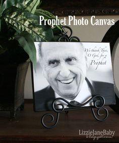 Prophet Photo Canvas - Liz on Call