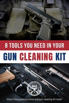 As your firearm collection grows, you'll notice that your investment does, too. From ammunition to holsters to safes and more, you can spend a fortune on self-protection and sport. But are you protecting your investment? Here are tools you need to have in your gun cleaning kit, no excuses. #guns #firearms #gunsafety #guncleaning #gunmaintenance #gunassociation #selfdefense #selfdefenseforwomen #SecondAmendment How To Make Diy Projects, Safety Rules For Kids, Firearms, Shotguns, Self Defense Women, How Do You Clean, Cleaning Chemicals, Take Apart, Holsters