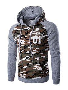 New Letskeep mens camouflage pullover hoodies casual slim hooded sweatshirts men hip hop pocket camo hoodie tracksuit Mode Camouflage, Camouflage Hoodies, Mode Man, Pull Sweat, Camo Hoodie, Sweatshirt Outfit, Mens Sweatshirts, Men's Hoodies, Sweat Shirt