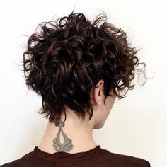 Style your coils in an undone-done look.