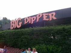 Big Dipper at Camden Park, West Virginia's only amusement park—over 100 years old (located in my hometown Huntington) Camden Park, Kings Island, Wayne County, Big Dipper, Roller Coasters, Ohio River, Beautiful Sites, Take Me Home, Amusement Park