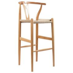 Product Image for Baxton Studio Wishbone Barstool 1 out of 4
