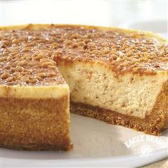 English #Toffee #Cheesecake from Eagle Brand®