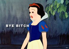 Snow White Bitches Say What   GIF It Up: Disney's Characters Just Had to Join The Miley Cyrus ...