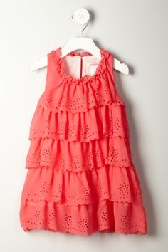 Paulinie Scalloped Dress