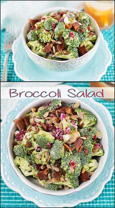 Broccoli Salad.  www.joyineveryseason.com