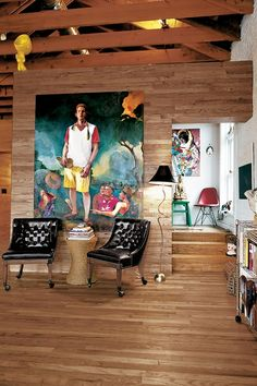 The Loft of Eric Shiner – Director of the Andy Warhol Museum