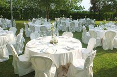 Giardino di Corte Dei Paduli - Wedding Location - Reggio Emilia, Italy. Allestimento per cena di nozze.