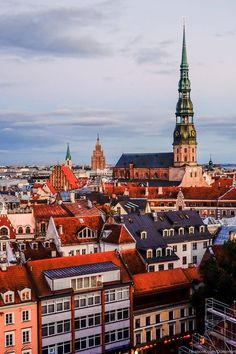 Riga is a colourful and beautiful city!