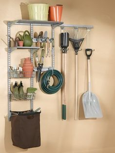 Triton Products 1760 Storability Wall Mount Storage System 66-Inch L by 63-Inch H with Heavy Duty Hanging Hooks, Shop/Rag Bag, Wire Shelf, 2 Wire Baskets, Steel Shelf and Hardware by Storability. $154.00. Constructed of 16-gauge heavy-duty hammertone gray epoxy coated steel to ensure long life. System holds up to 750-pound across the 2 top track frame units. Changing placement of the accessories is fast and easy. Includes all hardware required to mount the frame to...