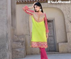 Gul Ahmed Festive Eid Collection 2017 Outfits Ideas for Girls