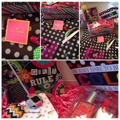 Posh Pak, October (9-12 age box) poshpak.com #poshpak #giftsforgirls #style @subscriptionbox Dares, Everything, All About Time, Gift Wrapping, Messages, My Favorite Things, Gifts, Gift Wrapping Paper, Presents