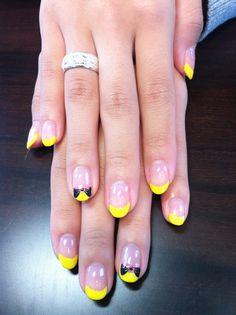 yellow nail♡