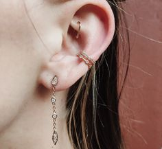 Multiple Ear Piercings: 30 Cool Combinations to Copy | StyleCaster