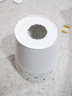 IKEA Hackers: Ikea Skurar plant pots as lamp shades