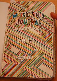a great 'wreck this journal'