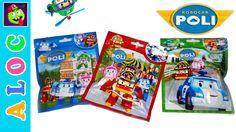 Robocar Poli Surprise Packs with RoboCar Toys and Magic Cards