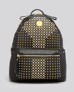 2aa2edf622a3 MCM Backpack - Stark Special Medium Crystal Studded Handbags - Backpacks &  Weekenders - Bloomingdale's