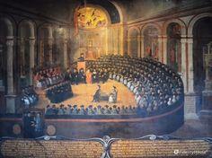 Autentica rappresentazione del Santo Concilio Tridentino aperto nel 1545 sotto…
