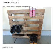 Inventional shoe rack