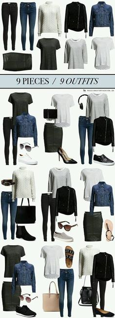 Contains affiliate links: black jeans/Twist & Tango HERE, blue jeans/Maison… Mode Outfits, Fall Outfits, Casual Outfits, Fashion Outfits, Womens Fashion, Fashion Tips, Packing Outfits, School Outfits, Packing Ideas