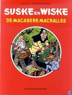 Strips - Suske en Wiske - De macabere Macralles