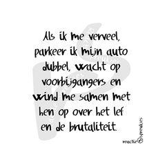 Dubbel parkeren #brutaliteit #humor #verkeer