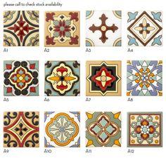 Revival Malibu - Decos - Mission Tile West