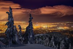 Vancouver From Above 2 by Stanisz