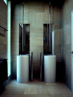 Bathroom - baige flooring
