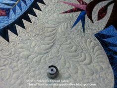 Thread Tales from a Scrappy Quilter: Lou Ann's Paradise in Blooms.