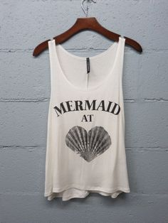 Mermaid at Heart Tank $18 – Bella Dawn Boutique #mermaid #summer