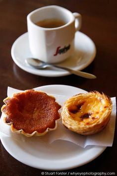 Coffee and cakes in #Lisbon, #Portugal