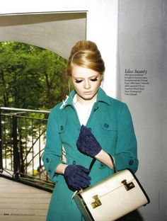 Flight Attendant Fashion: Stewardess Style Reigns Supreme for Elle Italy's 'Tendenze in Divisa'                                                                                                                                                     More