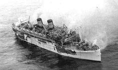 22 december 1963  Aan boord van het Griekse cruiseschip 'Lakonia'  ex. 'Johan van Oldenbarnevelt'  breekt brand uit http://koopvaardij.blogspot.nl/2015/12/22-december-1963.html