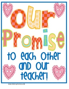 Looking for a cute and creative way to develop your classroom rules for the beginning of the school year? Make classroom promises