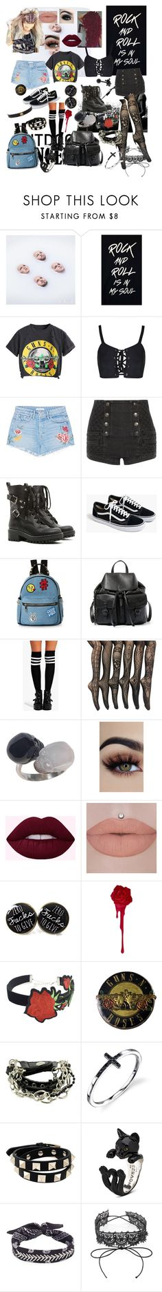 """Concerts"" by rachael-sweet ❤ liked on Polyvore featuring GRLFRND, Pierre Balmain, RED Valentino, J.Crew, IMoshion, Steve Madden, Boohoo, Too Faced Cosmetics, WithChic and Valentino"