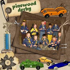 Boy Scout Challenge | Digital Scrapbooking at Scrapbook Flair